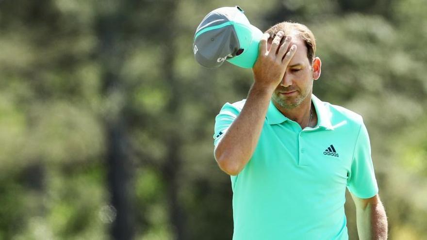 Sergio García firma el peor hoyo de la historia del Masters de Augusta