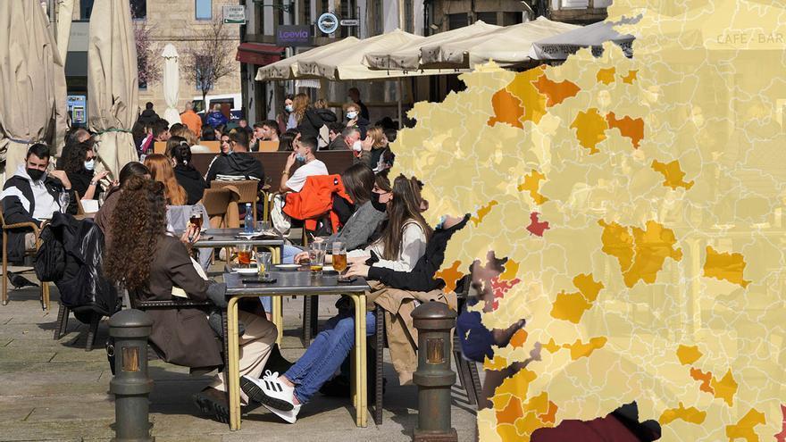 Galicia levanta fronteras, da otro empujón a la hostelería y blinda la madrugada