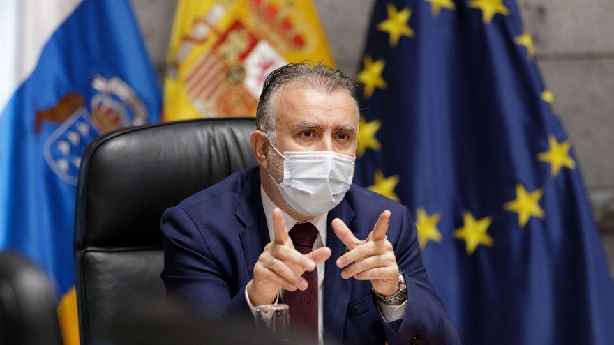 """Torres: """"Canarias va por el buen camino en la lucha contra la Covid-19"""""""