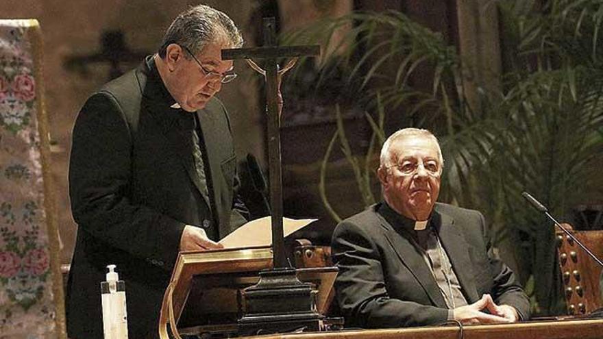 El nuevo vicario general del Obispado jura su cargo