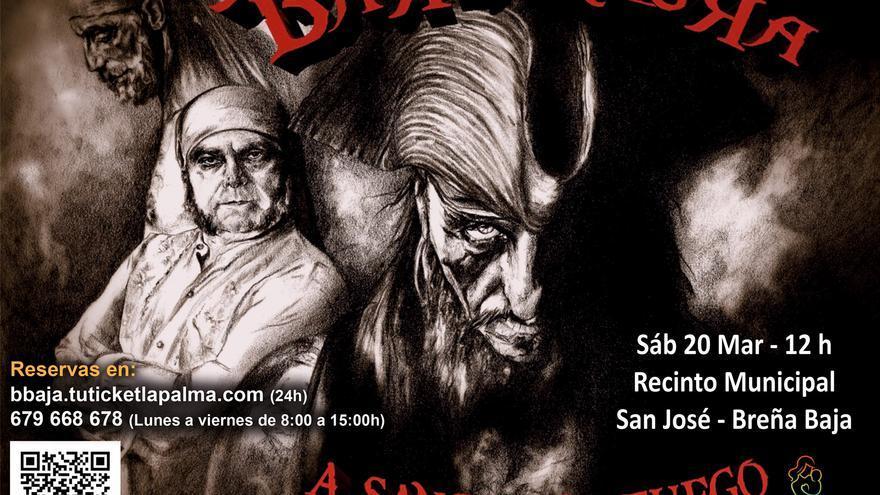 Barbanegra presenta 'A Sangre y Fuego'