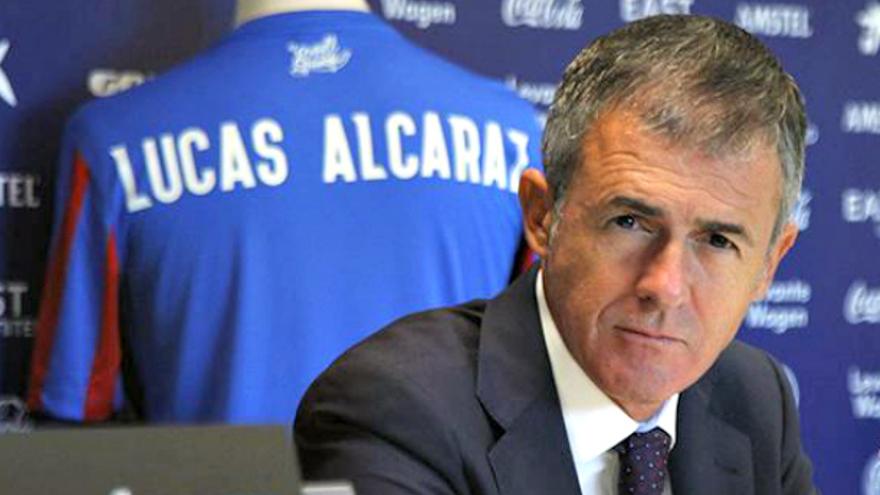 El Málaga CF negocia con Lucas Alcaraz