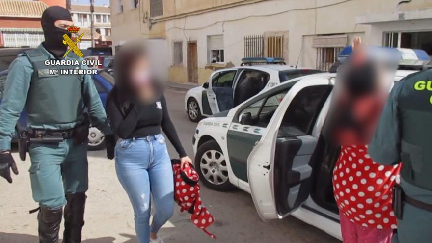 Una redada en San Javier se salda con tres detenidos