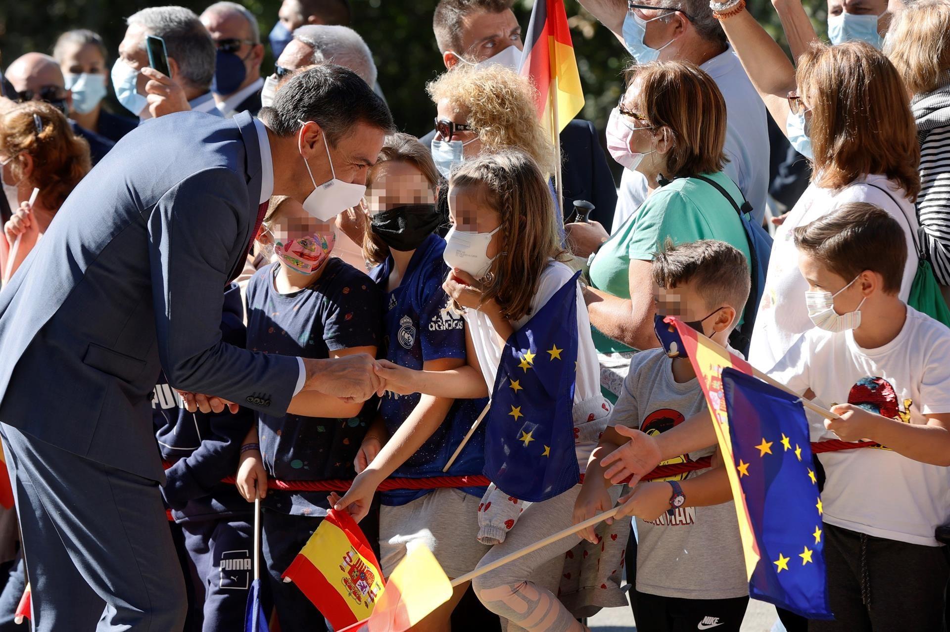 Entrega del premio Europeo Carlos V a Angela Merkel