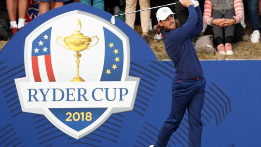 Europa manda en la Copa Ryder