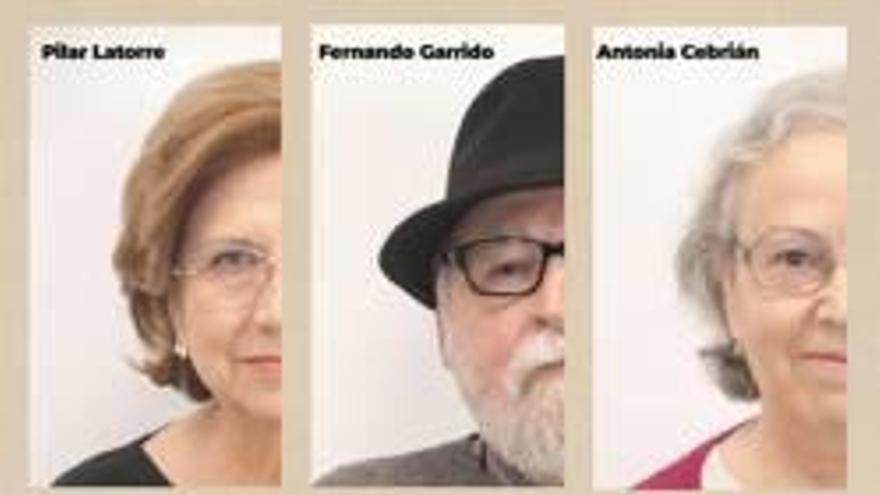 Seis poetas recitan sus obras en la biblioteca