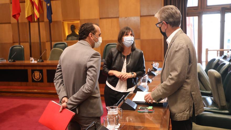 PSOE, ZeC y Podemos urgen a Azcón a colaborar con la DGA en vivienda