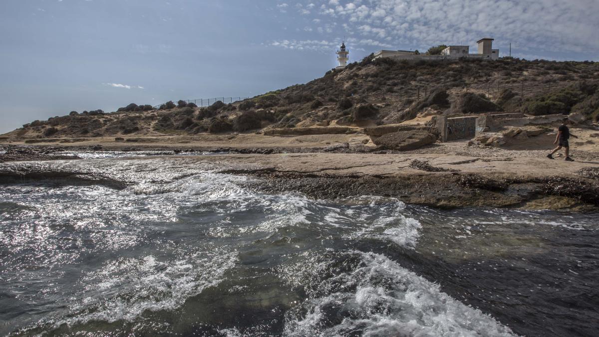 Calas del Cabo de las Huertas (Alicante)