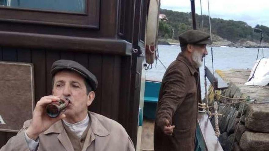 """El rodaje de """"El Santa Isabel"""" se centra esta semana en San Vicente"""
