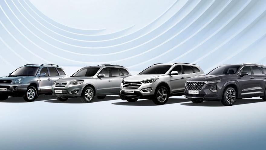 Así ha evolucionado el Hyundai Santa Fe en sus 20 años de historia