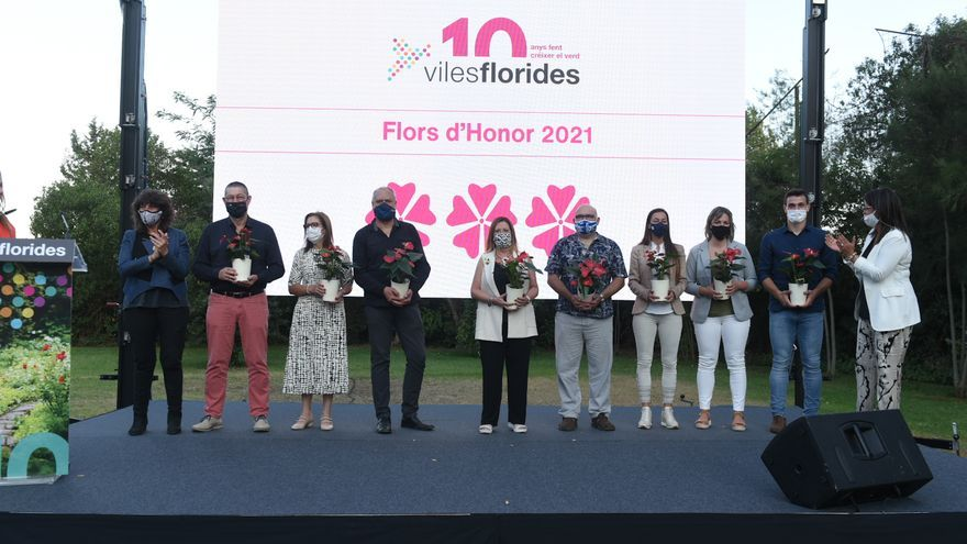 Castelló, Roses i Vilanant son reconeguts en el 10è aniversari de la gala de Viles Florides