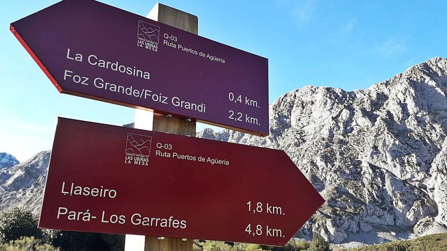 El Parque de las Ubiñas-La Mesa da un impulso a las rutas de Quirós