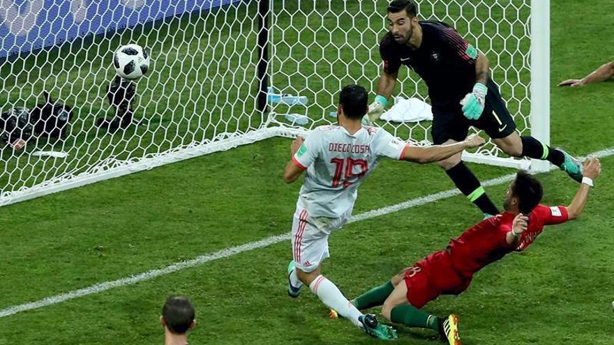Las mejores imágenes del España-Portugal