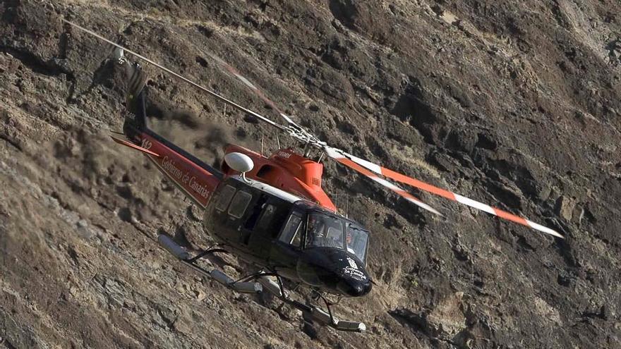 Rescate y asistencia de un escalador en barranco de El Laurel