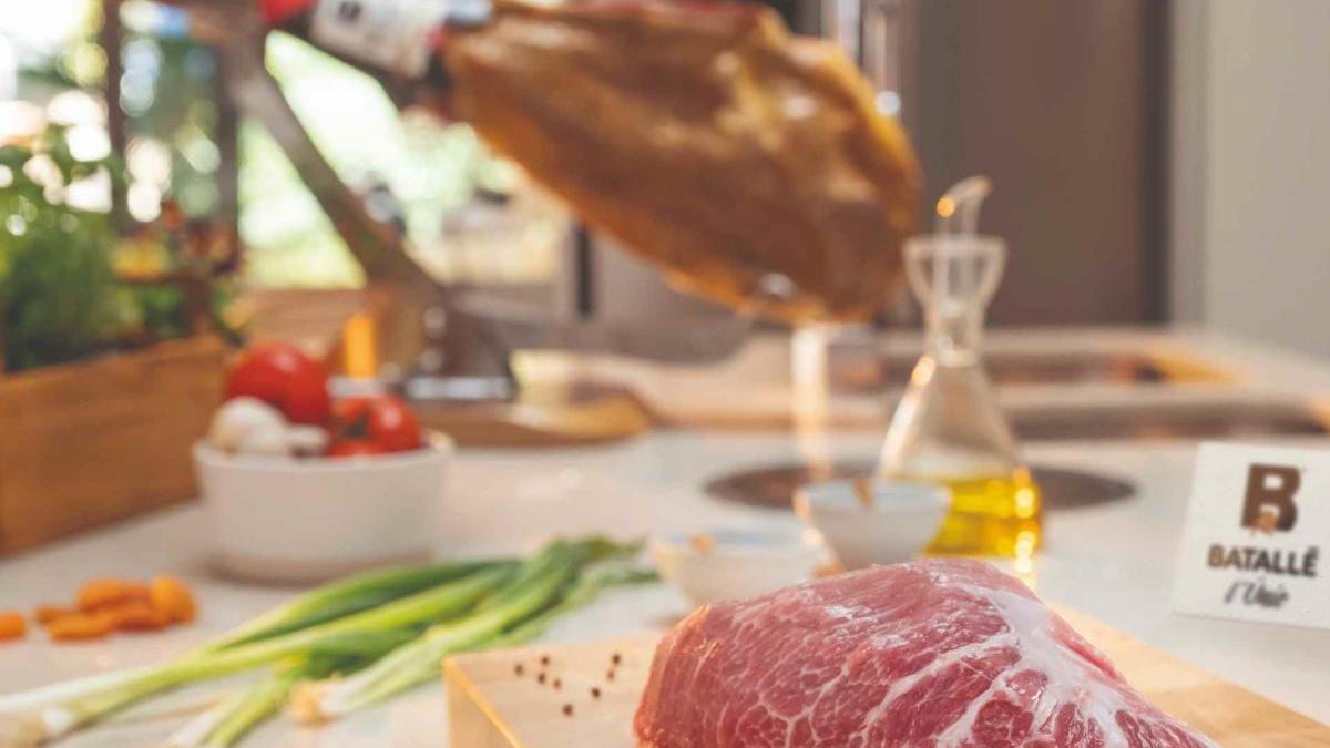 El «Gran Vinçat», el greix intramuscular que aporta sabor i tendresa a la carn