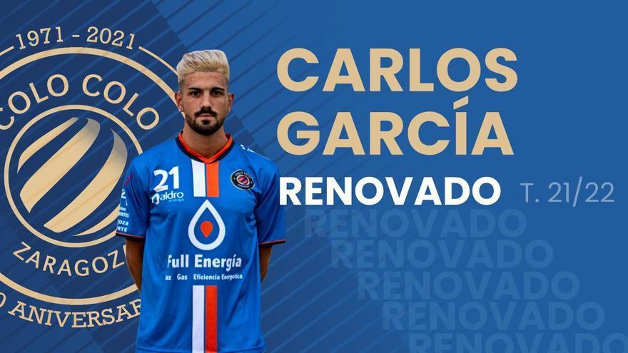 Carlos García renueva con el Colo-Colo