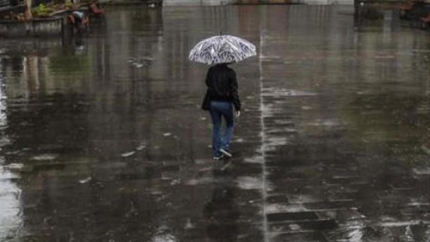 El anticiclón de Las Azores dejará viento y lluvias en Canarias