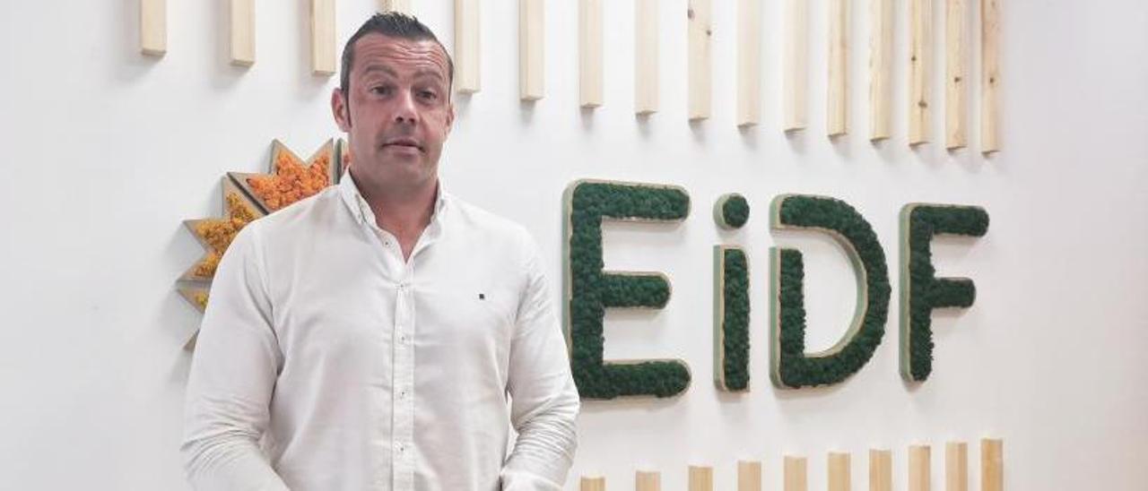 Fernando Romero, consejero delegado de EiDF, en la sede en Barro (Pontevedra).
