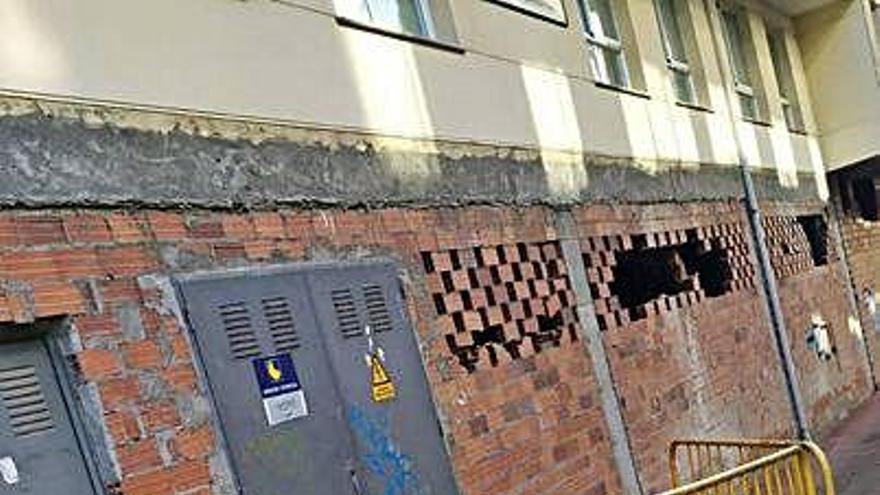 El BNG critica la demora de un año en arreglar un socavón en la acera