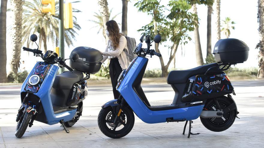 Cabify ofrece en Málaga un servicio de motos eléctricas junto a MOVO