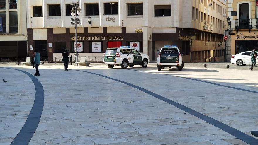 Registro de la Guardia Civil en Badajoz