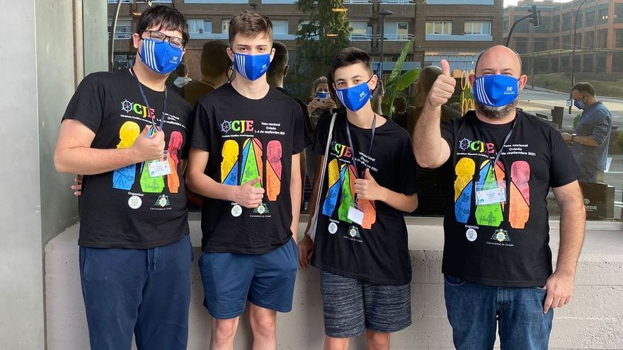 Tres estudiantes de la Vall, los mejores de la Olimpiada Científica Juvenil Española
