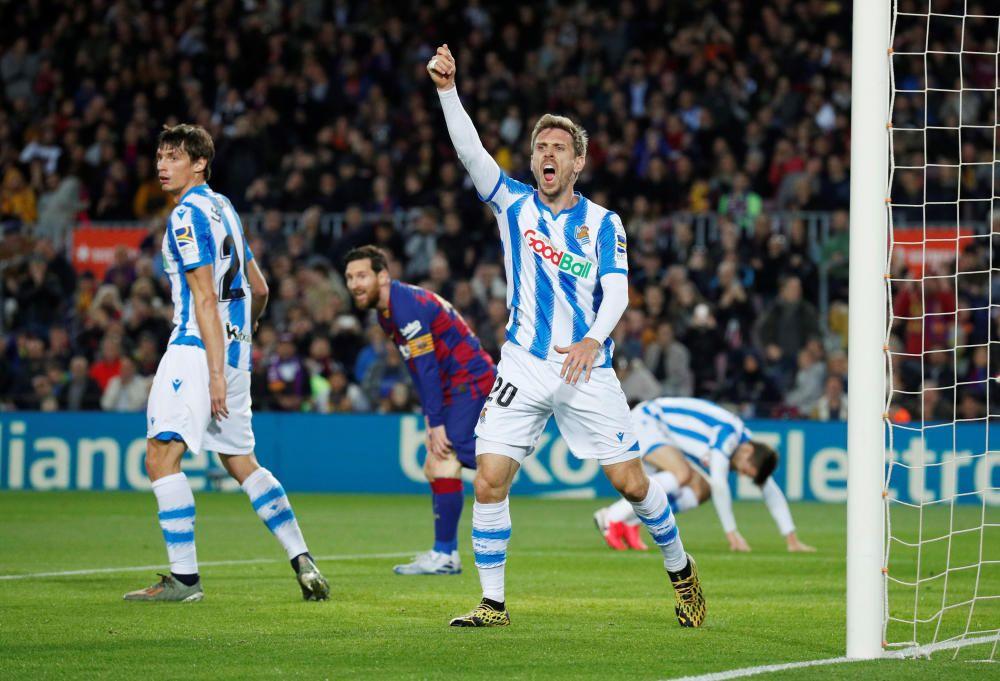Barça - Reial Societat, en imatges