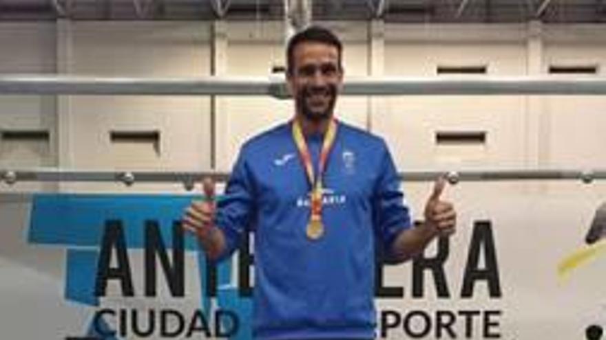 Juanra Pous, doble campeón de España máster en 800 y 1500