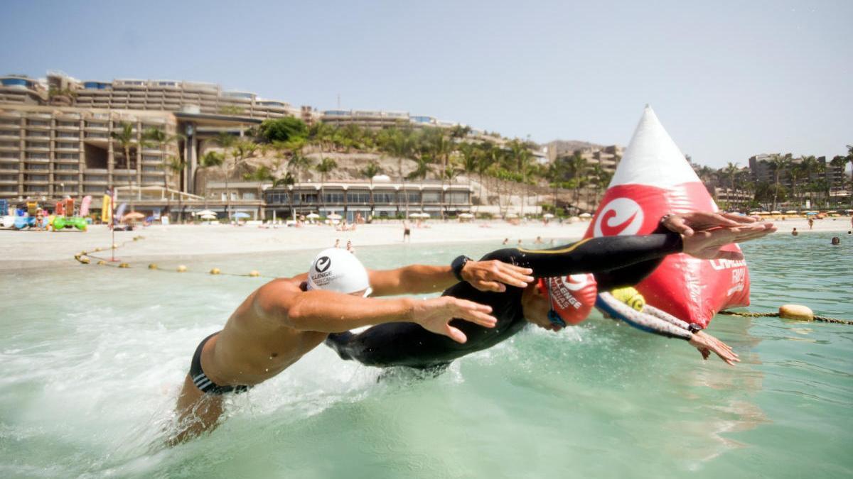 La travesía 'Anfi Challange' contará con 200 nadadores