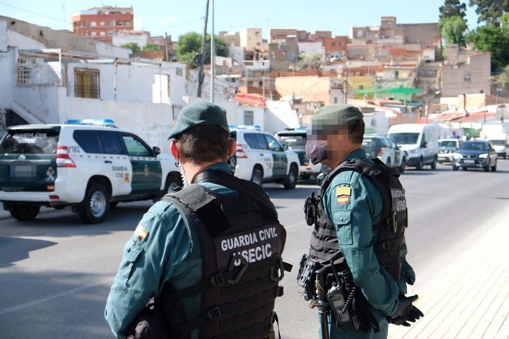 Macrooperación de la Guardia Civil contra el narcotráfico en Elda