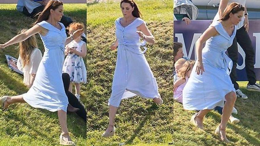 La duquesa de Cambridge, con cuñas 'made in Caravaca'