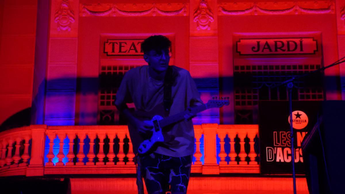 Concert d'Entresol2na a la Plaça Josep Pla