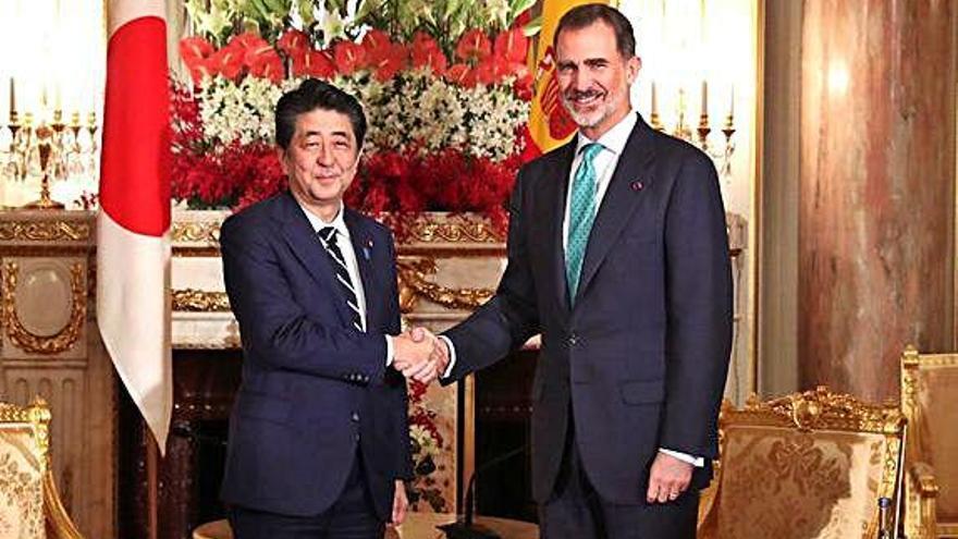 Japó Felip VI es reuneix amb el primer ministre