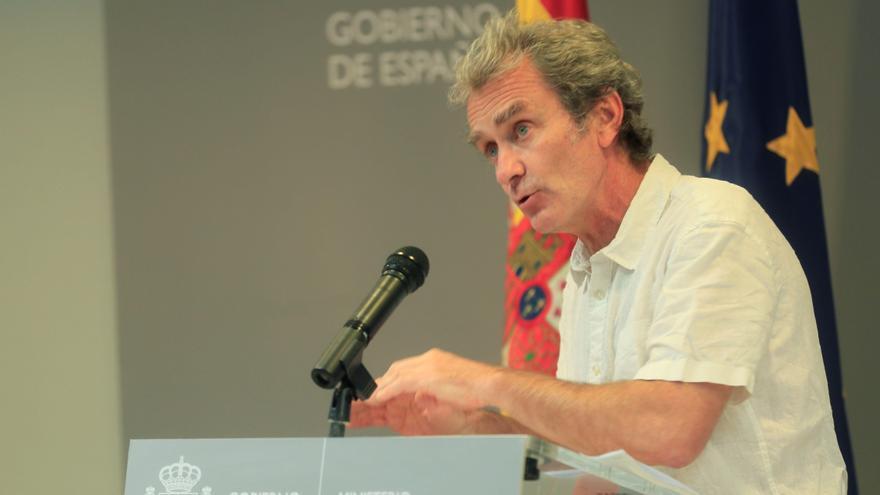 Directo | Fernando Simón analiza en rueda de prensa la evolución de la pandemia