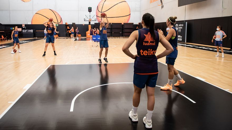 Vuelta al trabajo del Valencia Basket femenino