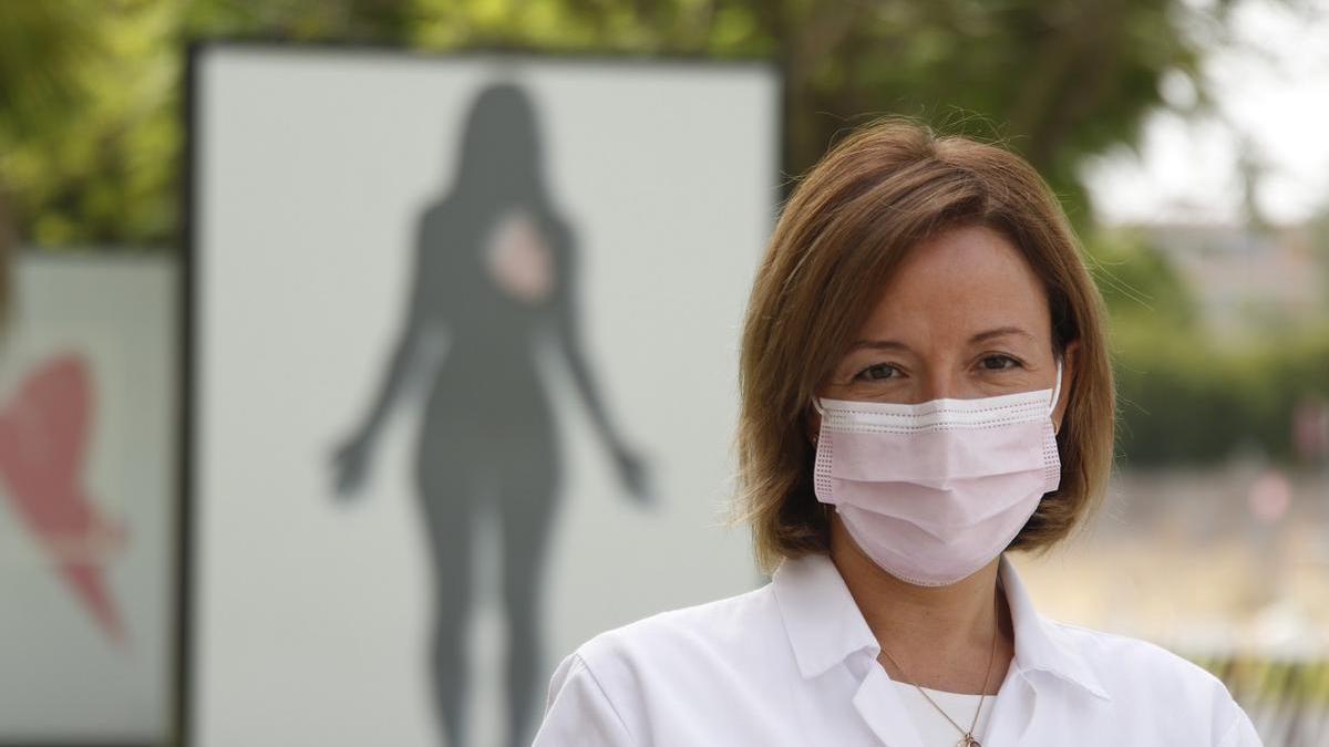 La directora gerente del hospital Reina Sofía, la doctora Valle García Sánchez.