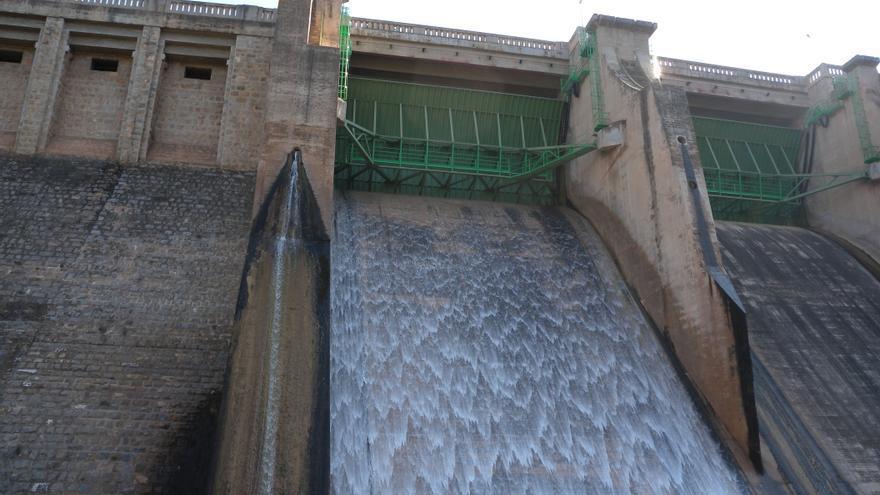 Los embalses del Segura están al 45% de su capacidad y los del Júcar al 54,6%