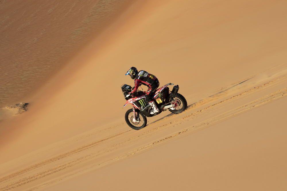 Undécima etapa del rally Dakar.
