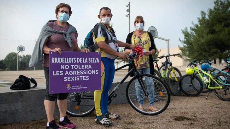 Bicicletada Poli-Poble a Riudellots