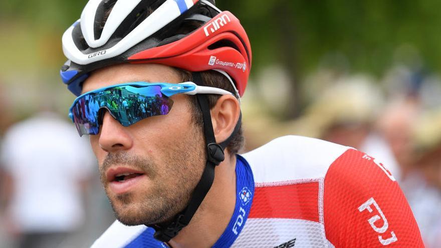 Pinot abandona el Tour por problemas musculares