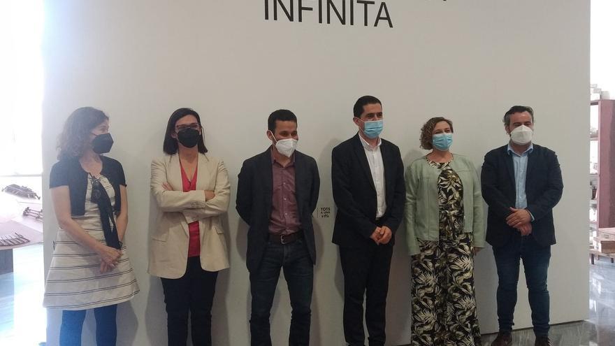 """El IVAM inaugura la exposición """"Escultura Infinita"""" en su sede de Alcoy"""
