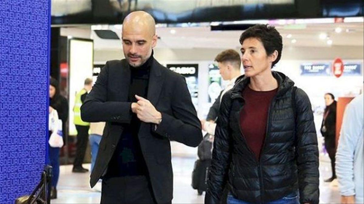 Pep Guardiola i Silvia Tremoleda
