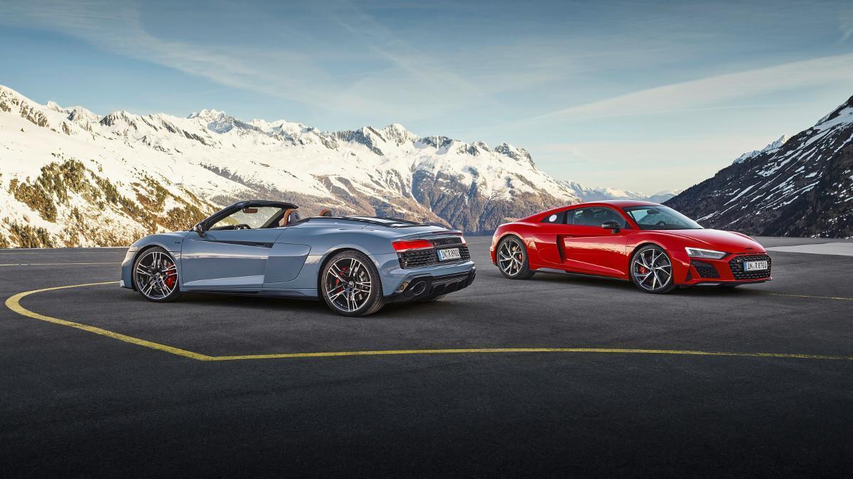 Nuevo Audi R8 V10 performance RWD: más potencia y placer de conducción