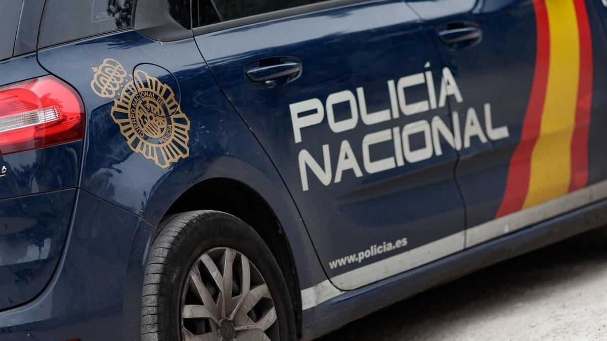 Un vehicle de la Policia Nacional