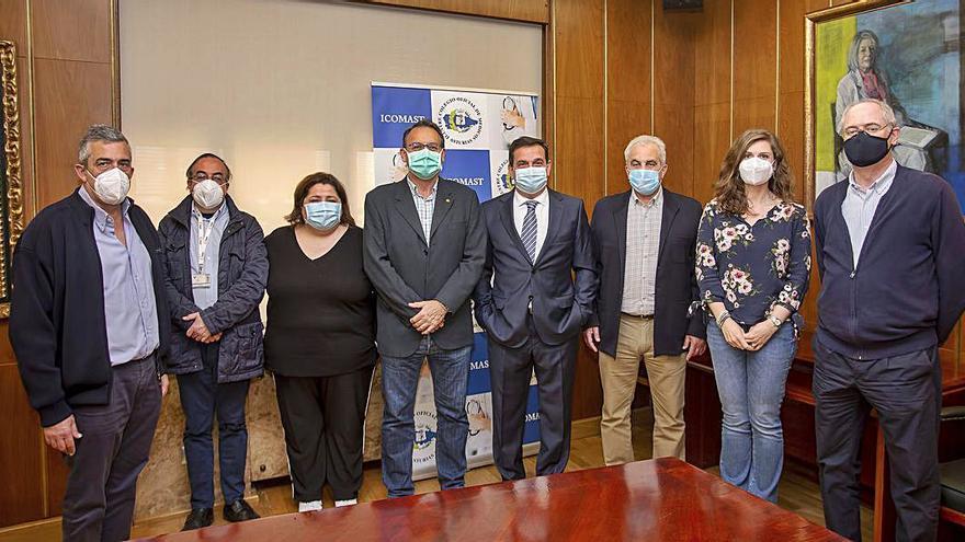 El Colegio y el SIMPA se alían para mejorar la situación de los médicos