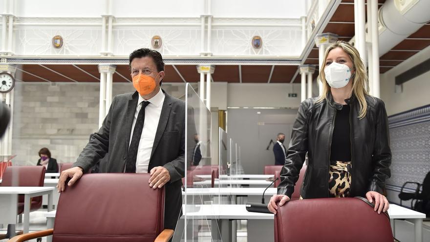 Cs propondrá que Juan José Molina rote con María Marín en la portavocía del Grupo Mixto