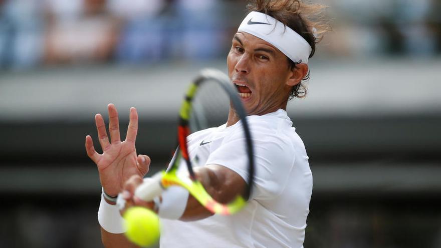 Nadal apabulla a Querrey y se cita con Federer en 'semis'