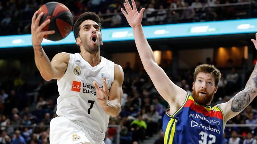 El MoraBanc Andorra tumba al Real Madrid y deja la Liga sin invictos