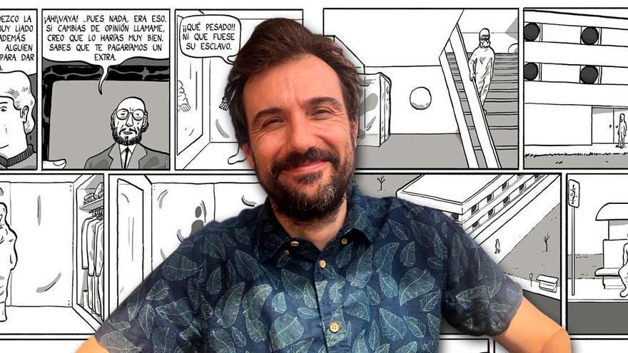 O cómic que a pandemia viralizou