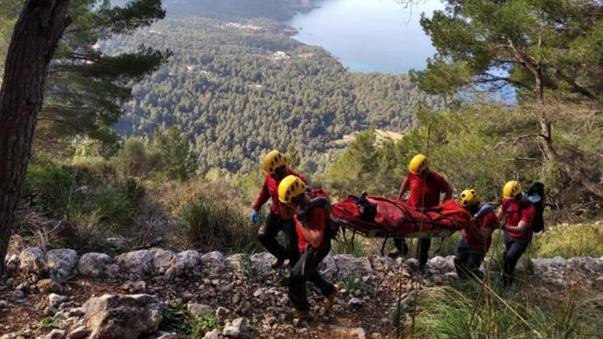 Vier Bergrettungen in zwei Tagen auf Mallorca